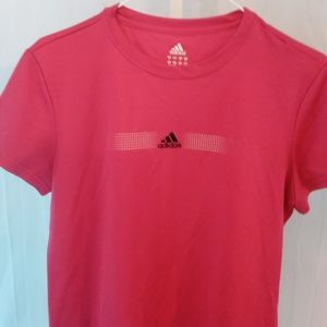 Ladies Adidas Athletic Style Tee Shirt (L)